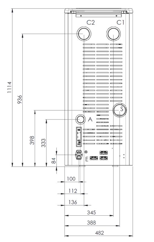 Piecyk na pellet Klover Aura 120 Multi-Air