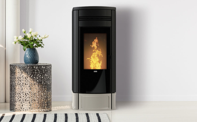 Piec na pellet Klover Style 140 Duo