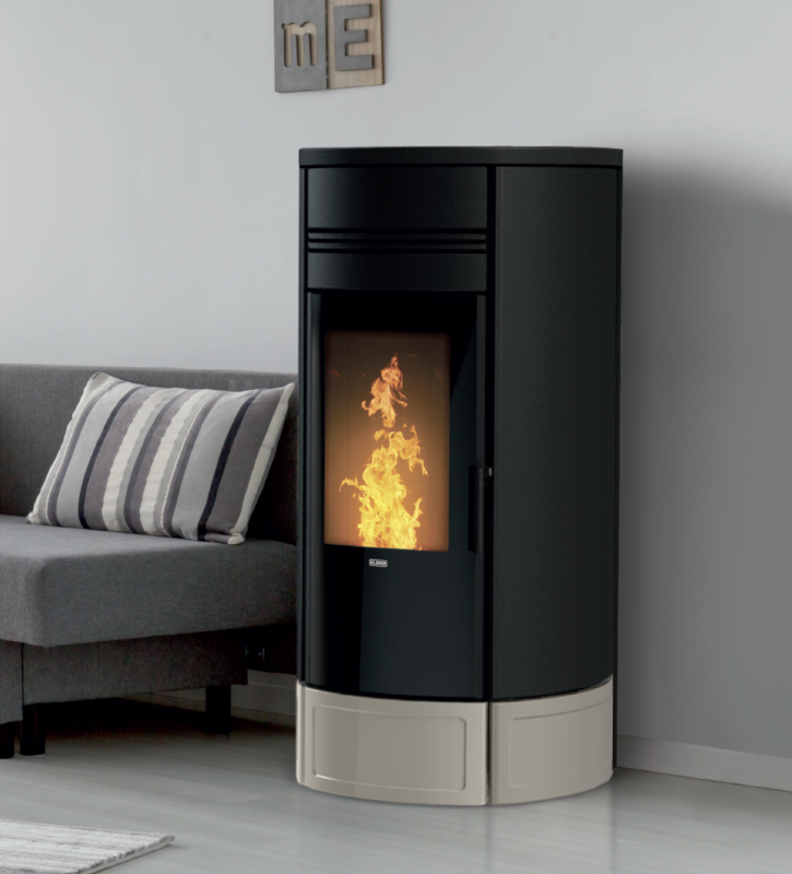 Piec na pellet Klover Style 180 Duo
